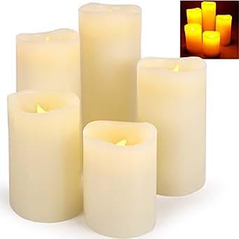 arti casa 54283 clairage de no l lot de 5 bougies led luminaires et eclairage. Black Bedroom Furniture Sets. Home Design Ideas