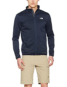 The North Face M Tanken Full Zip Chaqueta, Hombre, Azul (Urban Navy), M