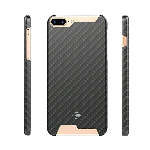 IPhone 7 Fall, CORNMI Premium Aramid Faser (Bullet Proof Material) Ultra-dünnen Ultra-light Superior Case Kompatibel für iPhone 7 Carbon-Faser-Abdeckung (iPhone 7 (4.7 inch), matte) matte