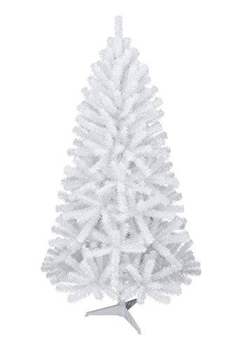Dekoflower - Weißer Weihnachtsbaum Christbaum Tannenbaum 180 cm groß