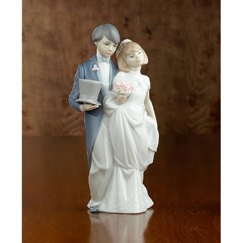 Lladró campanas de boda Figura