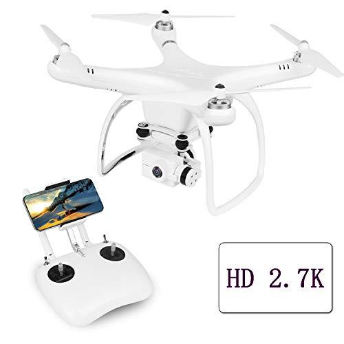 UPAIR One Plus dron cuadricóptero, RTF, con cámara 2.7K Alta definición y FPV, con Retorno Automático y Modo Headless