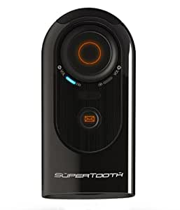 supertooth hd handsfree bluetooth speakerphone car kit amazoncouk electronics