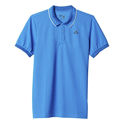 Preisvergleich Produktbild adidas Herren Poloshirt Essentials Mid,  Shock Blue / Black,  S,  AK1763