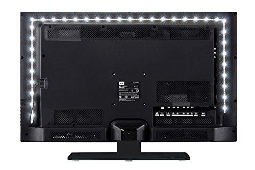 Vansky® 2M LED-TV-Hintergrundbeleuchtung für HDTV / Gaming PC, LED-Streifen leuchtet nach Hause normal hellweiß für Flachbildschirm-TV-Zubehör, Desktop-PC [Energieklasse A]