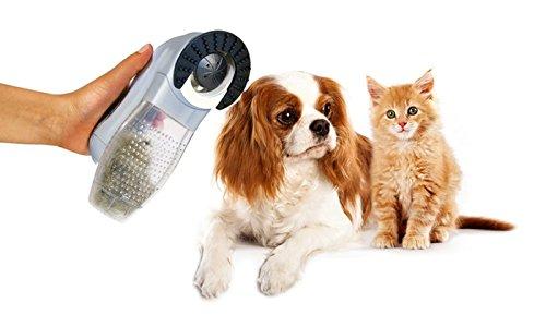 Massaggiatore aspirapeli per animali domestici