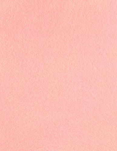 The Felt Store – Bastelfilz Filzzuschnitte in rosa aus synthetischem Filz 25 Stück
