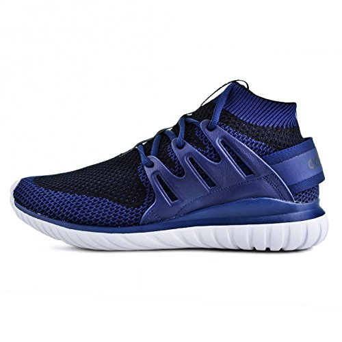 Basket, couleur Blue , marque ADIDAS ORIGINALS, modèle Basket ADIDAS ORIGINALS TUBULAR NOVA PK Blue