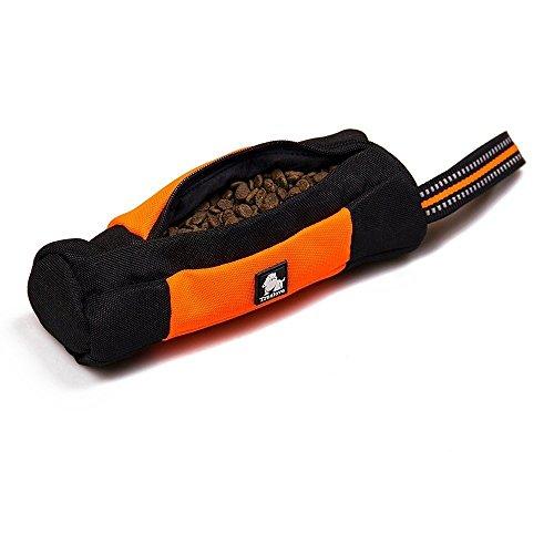 Futtertasche für Hunde, Raffaelo Dog Treat Tasche Hunde Futterbeutel Hunde Trainingstasche Beutel Hundefutter Lagerung für Hündchen Training und Outdoor-Aktivitäten