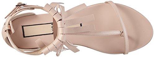 N°21 Damen 8738 T-Spangen Sandalen Pink (NUDE)