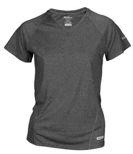 Reebok - Maglietta sportiva -  ragazza Athletic Gray