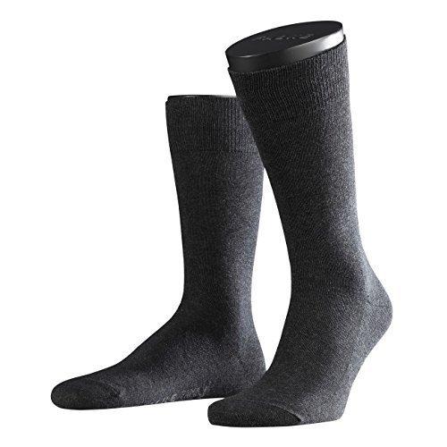Preisvergleich Produktbild Falke Herren Socken Family 2er Pack, Größe:39-42;Farbe:Anthracite Melange (3080)