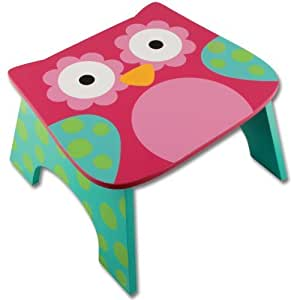 Stephen Joseph Step Stool Owl Garden Lawn Maintenance