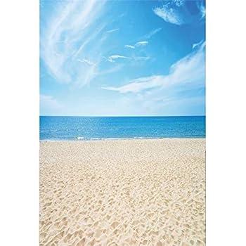 Cassisy 1x15m Vinile Mare Foto Da Sfondo Spiaggia Tropicale Di