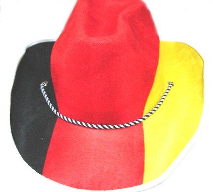 Chapeau cowboy supporter France - Taille Unique