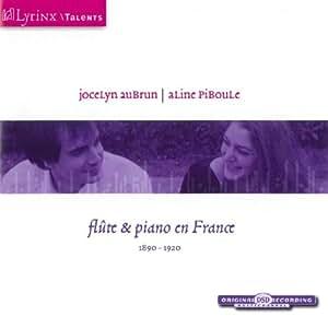 Flûte et piano en France 1880-1920