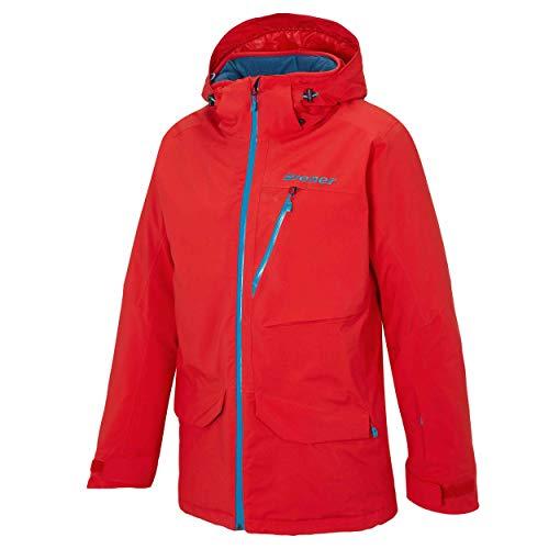 Ziener Herren Skijacke Talia Man Teamwear DERMIZAX rot 888 GR.50 neu