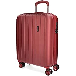 Movom Wood 5319166 Equipaje de Mano, 55 cm, 43 litros, Rojo
