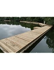 Puente Diseño–Puente de natación, baño Isla, puente o sistema de natación Pontón