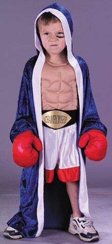 Lil' Champion Boxer Costume Toddler Large (Blue Boy Little Halloween Kostüm)
