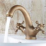 Wasserhahn Waschtischmischer Warmes Und Kaltes Wasser Kupfer Europäischen Stil Bad Schränke Becken Keramik Wasserhahn Luxus Herrschsüchtig