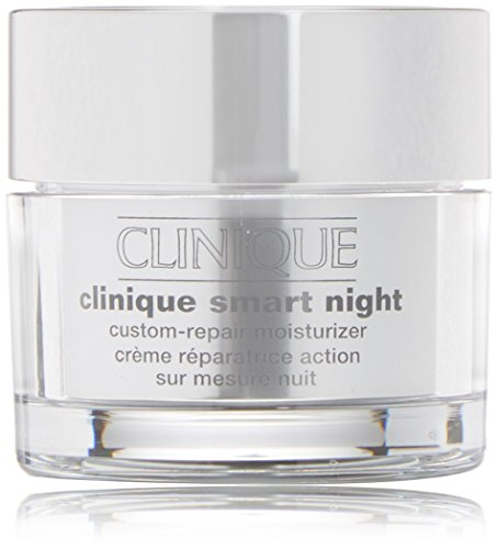 Clinique Crema Antirughe, Smart Night Custom-Repair Moisturizer Ps, 50 ml
