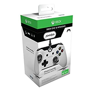 PDP Wired Controller for Xbox One and Windows - White