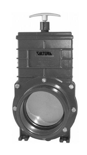 Valterra Zugschieber mit Edelstahlspindel und -schieber, 2x Klebemuffe, Ø 110 mm