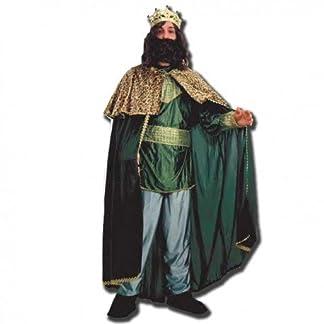 Disfraz de Rey Mago Verde – Traje de Rey Mago