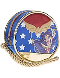 Karactermania Dc Super Hero Girls Wonder Women Monedero, 10 cm, Azul