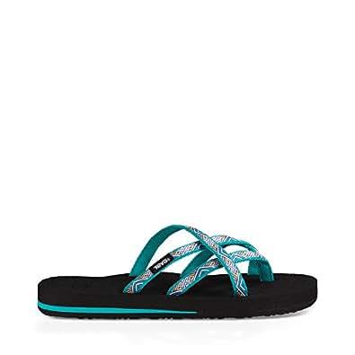 Damen-Sandalen Teva Olowahu, Flip-Flops, - Island Tropic