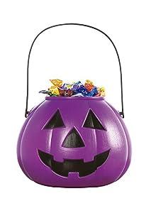 Haunted House - Calabaza porta caramelos, color lila (Rubie