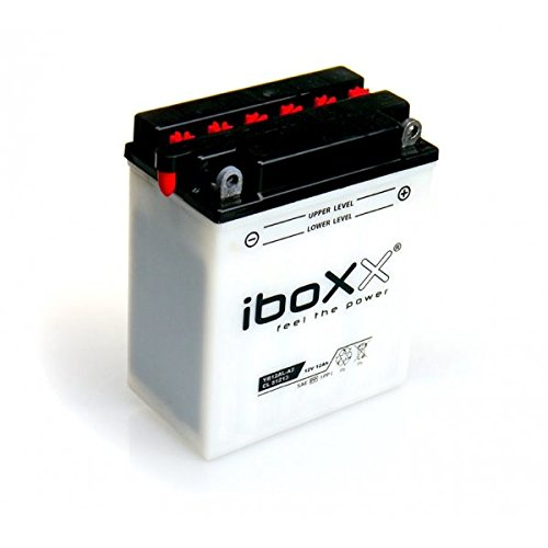 Preisvergleich Produktbild Iboxx Motorrad Batterie YB12AL-A2,  12 Volt,  12 Ah,  inkl Säurepack für BMW F 650 650 CS Scarver,  177,  E650C,  Bj. 2005