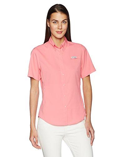 Tamiami Angeln Shirt (Columbia Sportswear Damen TAMIAMI II Short Sleeve Shirt Small lollipop)
