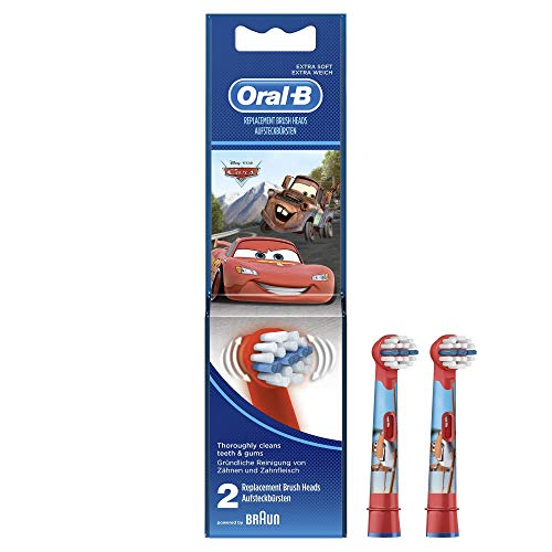Oral-B Stages Power Kids Aufsteckbürsten, 2 Stück (verschiedene Modelle)