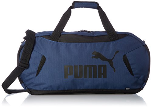 Puma Gym Duffle Bag S Sac Mixte, Sargasso Sea Black, Taille Unique