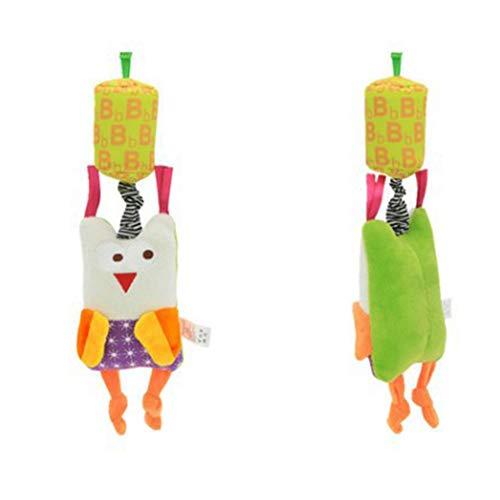 DDG EDMMSUn paquete de viento letra B campanas de juguete de peluche...
