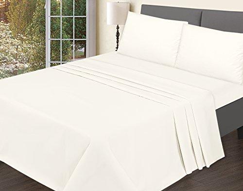 T200soporte de hojas Plain lujo fácil cuidado 100% Premium calidad gama de productos en color juego de cama de bemode, crema, Doublé
