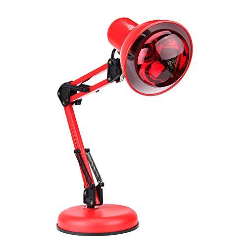 100 Watt Infrarot Therapie Wärme Lampe Schmerzlinderung Physiotherapie Heizung Licht Massage Gesundheit Infra Pflege Desktop Bodenständer -