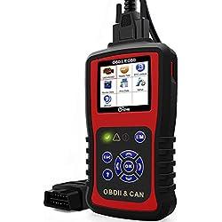 KC301 OBD2 Escáner de Diagnóstico Automático Comprobación de la Luz del Motor Lectores de Código de Fallo de Vehículo OBDII Obd-ii Automotive Car Scan Tool