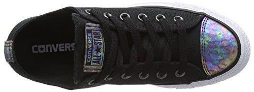 Converse Chuck Taylor All Star, Baskets Basses Femme Noir (Black/Egret/Black)