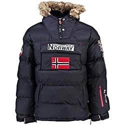 Geographical Norway Parka Hombre BOKER Azul Marino L