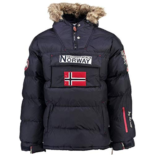 Geographical Norway Parka Hombre BOKER Azul Marino M