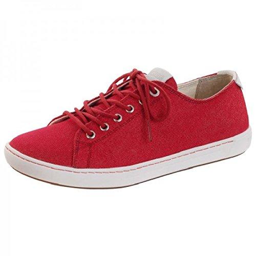 Birkenstock Arran Tx, chaussons d'intérieur femme Rouge (Red)