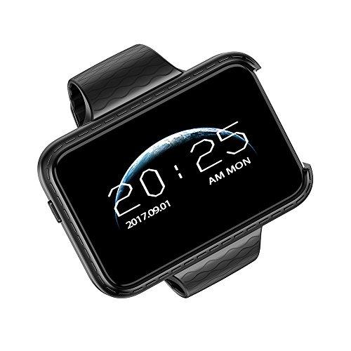 Beautyrain I5S Smart Watch Großbild Schrittzähler Tracker Smart Armband Weiß Unterstützung SIM-Karte und Netzwerk Multifunktions-Smartphone Sport Mp4 Watch Player
