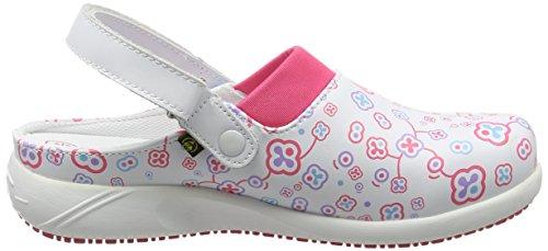 OXYPAS Doria, Chaussures de sécurité femme Blanc (flr)
