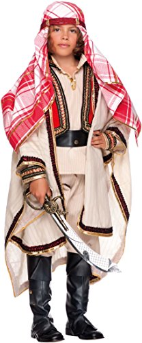 KOSTÜM FASCHING KARNEVAL LAWRENCE VON ARABIEN für KARNAVALKOSTÜME fancy dress halloween cosplay veneziano party 53201 Size 9/L