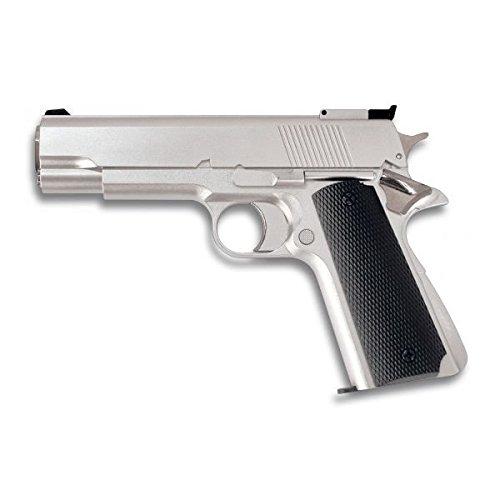 Pistola.GAS. Blanca. 6 mm.HFC.Munición: Bolas PVC - 6mm.PVC.potencia 0,40 julios