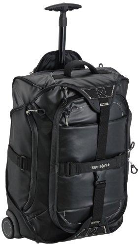 Samsonite Paradiver Duffle/Wh 55/20 Backp. Bolsas de viaje, 55 cm, 48 L, Negro (Negro)