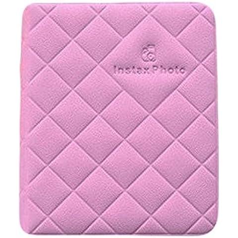 32paquetes 3(diseño de diamantes álbum de fotos Instax Mini para Fuji Mini 7s 82550s 90películas camera-purple